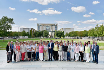 Gäste aus dem Allgäu erlebten auf Einladung ihres Bundestagsabgeordneten Stephan Stracke das politische Berlin. Foto: Atelier Schneider, Berlin