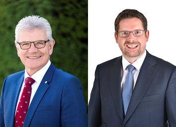 Artur Auernhammer, agrarpolitischer Sprecher der CSU im Deutschen Bundestag, und Stephan Stracke tauschten sich im Rahmen einer Videokonferenz mit Vertretern des BBV Ostallgäu aus.